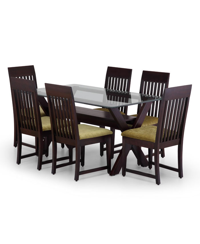 Oneera 6 Dining table with chair Dining – Dining Table, 6