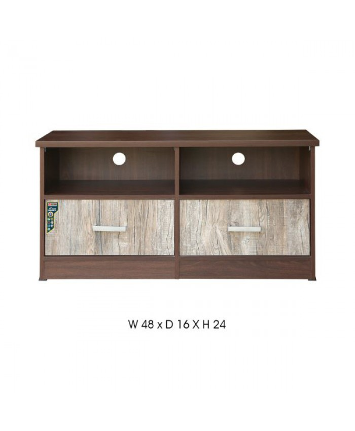 LCD 02 D TV Unit with 2 Drawer. Modular type Furniture