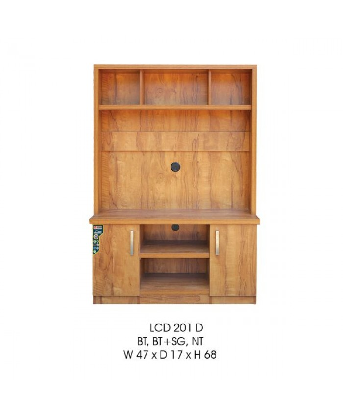LCD 201 D TV Unit Modular Furniture. 2 Door Cabin