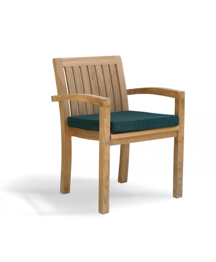 Stacking Chair with cushion