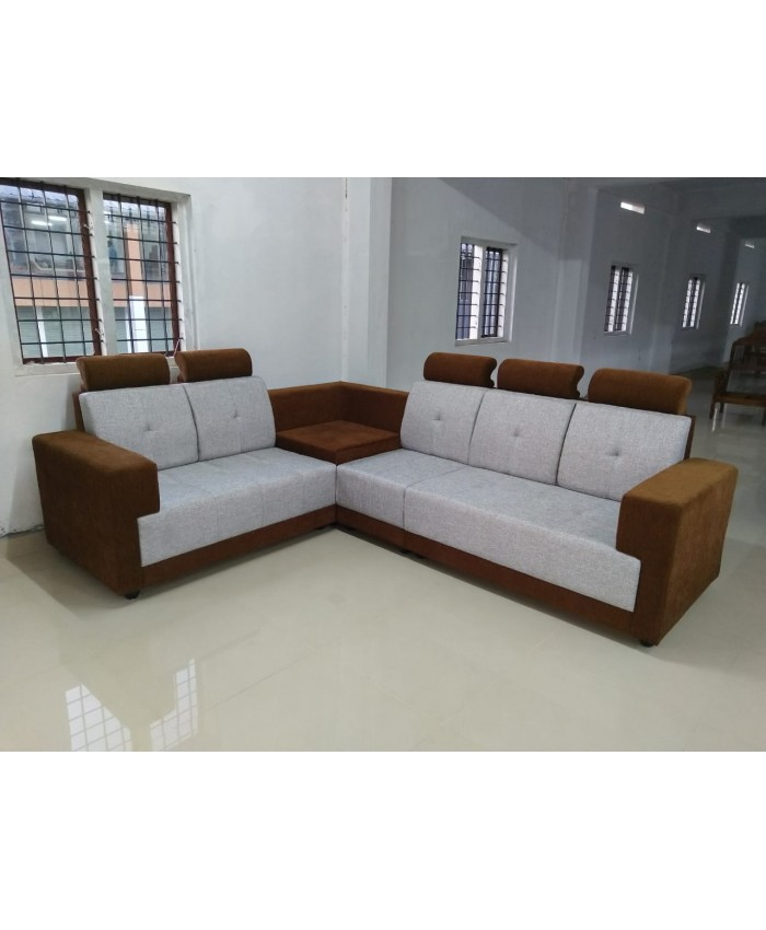 San Corner Sofa with Head Rest