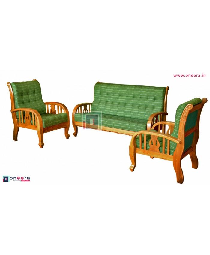 Saran Wooden Sofa