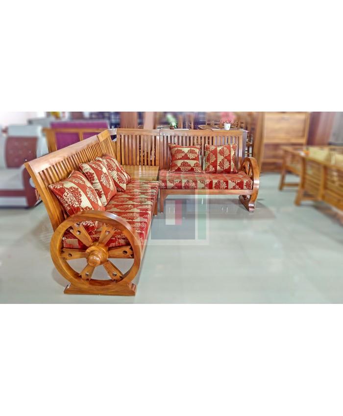 Chakrah Corner Sofa set (3+2+Corner)