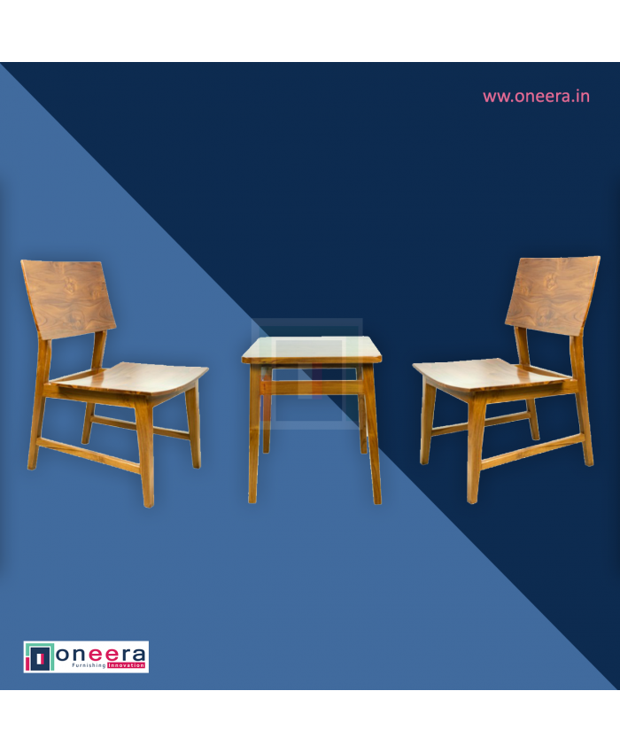 Kotak Coffee Table with Chair